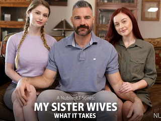 Bunny Colby & Danni Rivers in My Sister Wives What It Takes - Nubiles-Porn