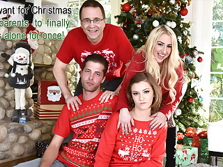 Riley Mae in Heathenous Family Birthday Practical meddle with - FamilyStrokes