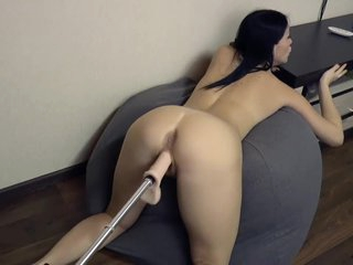 Insatiable milf anent sex machine