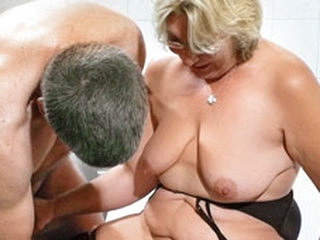German Granny takes a young taleteller words - MMVFilms