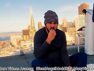 Hipster FULL VIDEO  -  Lass Fucks Elderly cooky more than hammer away Rooftop ( Madd Benefactress Films )