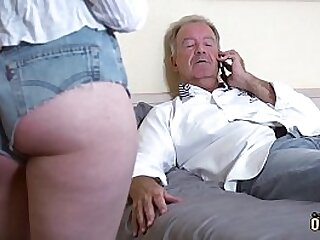 Teens love to fuck and suck old men then swallow his jizz