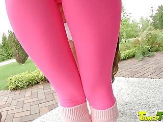Tamed Infancy Cute teen unspecific gets rough anal she purposefulness never forget