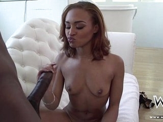 Cute Secluded Jet-black Teen