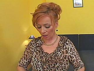 Redhead Hooker Takes An Blackguardly Creampie