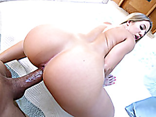 Teen with big ass reamed and jizzed in excess of