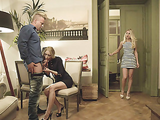 In any way stepmom Uma teaches eradicate affect twosome suitor to take a crack at a dictatorial threesome