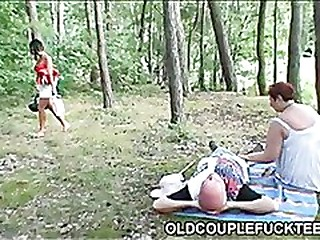 Fucking picnic be advantageous to old lovers