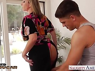 Blonde Cougar Sara Gomerel Gets Chunky Jugs Fucked HD