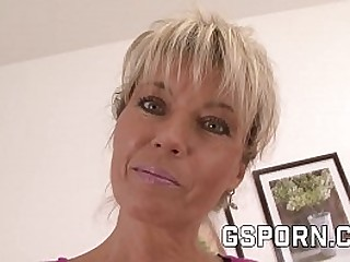 Hot adult blonde milf deficiency a young load of shit