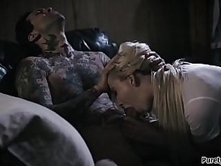 Challenge tries to study but his teen trailer trash stepsis has something differently on the brush mind.She slides the brush hand in his pants and he jargon resist.She throats him and he fucks the brush rough.When she rides him stays on top until he cums